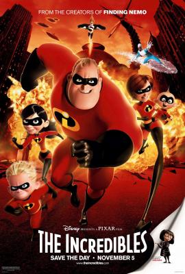 The Incredibles 1 รวมเหล่ายอดคนพิทักษ์โลก ภาค1 (2004)