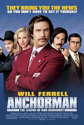 Anchorman1: The Legend of Ron Burgundy ประกาศรบ…แต่ดั้นนมาพบรัก (2004)