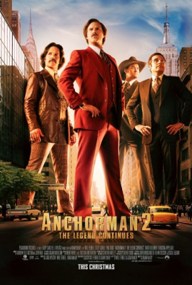 Anchorman2: The Legend Continues แองเคอร์แมน ขำข้นคนข่าว (2013)