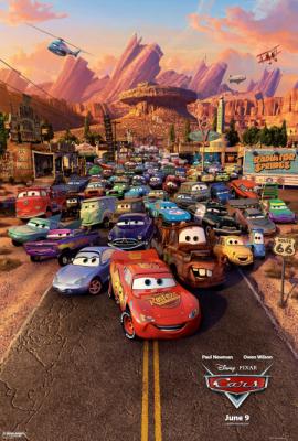Cars 4 ล้อซิ่ง ซ่าท้าโลก (2006)