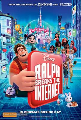 Wreck-It Ralph 2: Ralph Breaks the Internet ราล์ฟตะลุยโลกอินเทอร์เน็ต: วายร้ายหัวใจฮีโร่ 2 (2018)